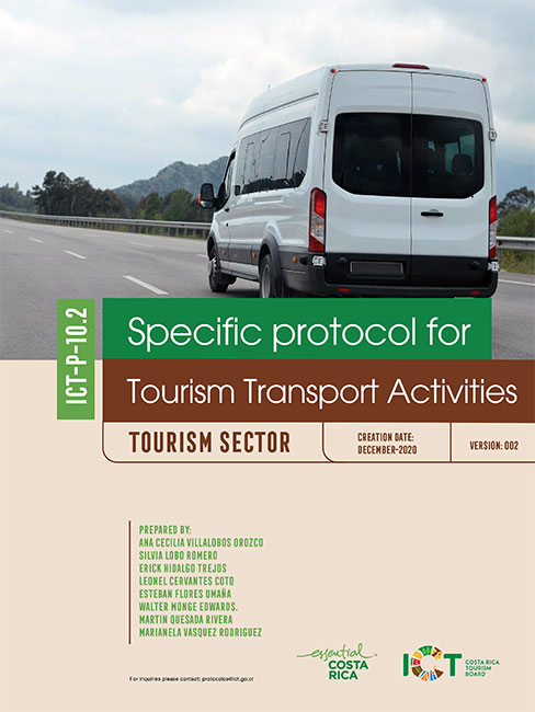PROTOCOLO 11.  Tourism Transport Activities